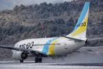 COLT VerRさんが、岡山空港で撮影したAIR DO 737-781の航空フォト(写真)