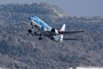 COLT VerRさんが、岡山空港で撮影した日本トランスオーシャン航空 737-4Q3の航空フォト(写真)