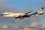 Orcaさんが、成田国際空港で撮影した日本貨物航空 747-4KZF/SCDの航空フォト(写真)