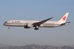 JRF spotterさんが、ロサンゼルス国際空港で撮影した中国国際航空 787-9の航空フォト(写真)