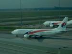 エアキヨさんが、クアラルンプール国際空港で撮影したマレーシア航空 737-8H6の航空フォト(写真)
