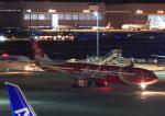 タミーさんが、羽田空港で撮影したエアアジア・エックス A330-343Eの航空フォト(写真)