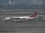 Hiyuさんが、台北松山空港で撮影したトランスアジア航空 ATR-72-500 (ATR-72-212A)の航空フォト(写真)