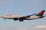 たろりんさんが、成田国際空港で撮影したノースウエスト航空 747-151の航空フォト(写真)
