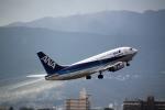 AkiChup0nさんが、伊丹空港で撮影したANAウイングス 737-54Kの航空フォト(写真)