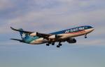 MOHICANさんが、成田国際空港で撮影したエア・タヒチ・ヌイ A340-313Xの航空フォト(写真)