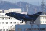 yabyanさんが、名古屋飛行場で撮影した航空自衛隊 U-125A(Hawker 800)の航空フォト(写真)