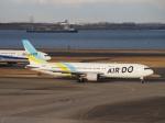 セッキーさんが、羽田空港で撮影したAIR DO 767-33A/ERの航空フォト(写真)
