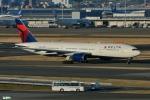妄想竹さんが、羽田空港で撮影したデルタ航空 777-232/ERの航空フォト(写真)