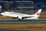 あしゅーさんが、福岡空港で撮影した日本トランスオーシャン航空 737-446の航空フォト(写真)