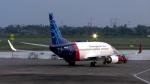 誘喜さんが、スカルノハッタ国際空港で撮影したスリウィジャヤ航空 737-524の航空フォト(写真)
