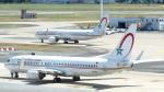 誘喜さんが、パリ オルリー空港で撮影したロイヤル・エア・モロッコ 737-8B6の航空フォト(写真)