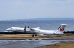 にしやんさんが、奄美空港で撮影した日本エアコミューター DHC-8-402Q Dash 8の航空フォト(写真)