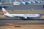 SKY☆101さんが、羽田空港で撮影した日本航空 767-346の航空フォト(写真)