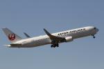 とらとらさんが、成田国際空港で撮影した日本航空 767-346/ERの航空フォト(写真)