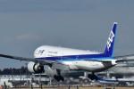 たかしくんさんが、成田国際空港で撮影した全日空 777-381/ERの航空フォト(写真)