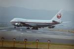 うすさんが、伊丹空港で撮影した日本航空 747-146B/SRの航空フォト(写真)