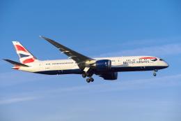 よしぱるさんが、ロンドン・ヒースロー空港で撮影したブリティッシュ・エアウェイズ 787-9の航空フォト(写真)