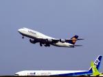 なまくら はげるさんが、羽田空港で撮影したルフトハンザドイツ航空 747-830の航空フォト(写真)