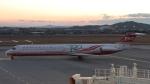 Cassiopeia737さんが、高知空港で撮影した遠東航空 MD-82 (DC-9-82)の航空フォト(写真)