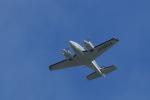 tecasoさんが、大塚山古墳で撮影した朝日航空 Baron G58の航空フォト(写真)