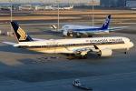 おっしーさんが、羽田空港で撮影したシンガポール航空 A350-941XWBの航空フォト(写真)