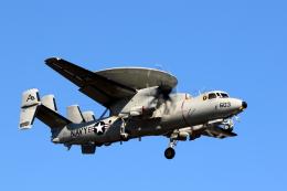 TAKA-Kさんが、厚木飛行場で撮影したアメリカ海軍 E-2D Advanced Hawkeyeの航空フォト(写真)