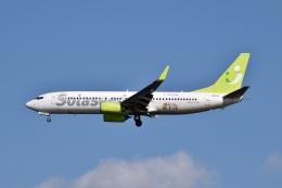 sonnyさんが、羽田空港で撮影したソラシド エア 737-86Nの航空フォト(写真)