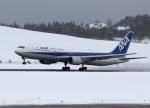 express999さんが、秋田空港で撮影した全日空 767-381/ERの航空フォト(写真)