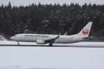 express999さんが、秋田空港で撮影した日本航空 737-846の航空フォト(写真)