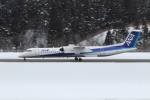 express999さんが、秋田空港で撮影したANAウイングス DHC-8-402Q Dash 8の航空フォト(写真)