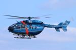 reonさんが、名古屋飛行場で撮影した神奈川県警察 BK117C-2の航空フォト(写真)