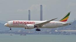 flytaka78さんが、香港国際空港で撮影したエチオピア航空 787-860の航空フォト(写真)