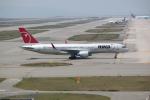 職業旅人さんが、関西国際空港で撮影したノースウエスト航空 757-251の航空フォト(写真)