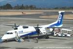 tabi0329さんが、鹿児島空港で撮影したANAウイングス DHC-8-402Q Dash 8の航空フォト(写真)