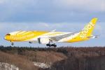 Soaringerさんが、新千歳空港で撮影したスクート 787-8 Dreamlinerの航空フォト(写真)
