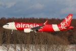 Soaringerさんが、新千歳空港で撮影したエアアジア・ジャパン A320-216の航空フォト(写真)