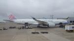 hachiさんが、台湾桃園国際空港で撮影したチャイナエアライン A350-941XWBの航空フォト(写真)