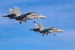 michael24さんが、厚木飛行場で撮影したアメリカ海兵隊 F/A-18D Hornetの航空フォト(写真)