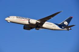 はるかのパパさんが、成田国際空港で撮影したアエロメヒコ航空 787-8 Dreamlinerの航空フォト(写真)