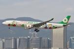 タヌキさんが、台北松山空港で撮影したエバー航空 A330-302Xの航空フォト(写真)