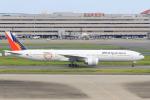 ストロベリーさんが、羽田空港で撮影したフィリピン航空 777-3F6/ERの航空フォト(写真)