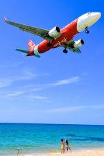 まいけるさんが、プーケット国際空港で撮影したタイ・エアアジア A320-216の航空フォト(写真)