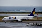 りゅうさんさんが、那覇空港で撮影したスカイマーク 737-8ALの航空フォト(写真)