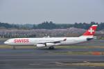 トロピカルさんが、成田国際空港で撮影したスイスインターナショナルエアラインズ A340-313Xの航空フォト(写真)