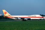 トロピカルさんが、成田国際空港で撮影したコンチネンタル航空 747-243Bの航空フォト(写真)