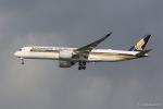 みなかもさんが、羽田空港で撮影したシンガポール航空 A350-941XWBの航空フォト(写真)