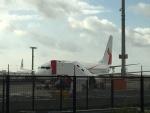ライトブルーレフトさんが、シドニー国際空港で撮影したニューギニア航空 737-8BKの航空フォト(写真)