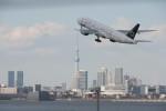 timeさんが、羽田空港で撮影した全日空 777-281の航空フォト(写真)