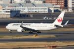 yuu-kiさんが、羽田空港で撮影した日本航空 767-346/ERの航空フォト(写真)